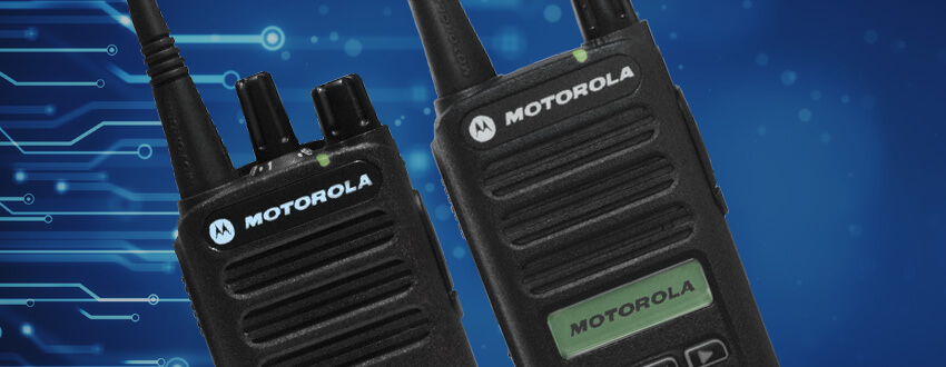 CP100d Series Portable Two-Way Radios